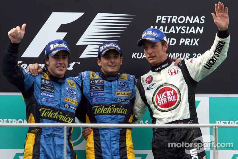 Giancarlo Fisichella - Letzter Sieg: GP Malaysia 2006 für Renault