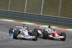 Jacques Villeneuve y Jarno Trulli
