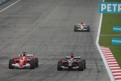 Felipe Massa et Scott Speed