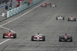 Felipe Massa, Felipe Massa et Scott Speed
