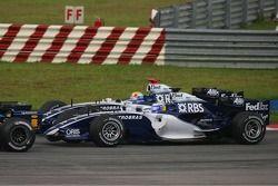 Nico Rosberg et Mark Webber