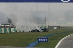 Nico Rosberg a des ennuis