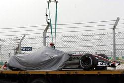 La voiture de Kimi Räikkönen