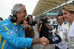 Flavio Briatore y Nico Rosberg
