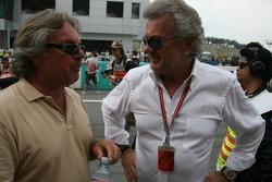 Keke Rosberg y Willi Weber