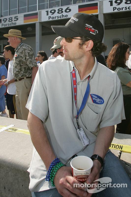 Actor Patrick Dempsey, Grand Marshal pour les 12 Heures de Sebring