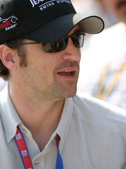 Actor Patrick Dempsey, Grand Marshal for the 12 Hours of Sebring