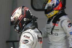 Kimi Raikkonen y Juan Pablo Montoya
