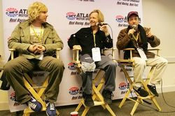 Actors Jon Heder, David Spade and Rob Schneider promote their new moive