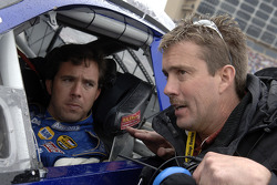 Hermie Sadler and Keith Caldwell