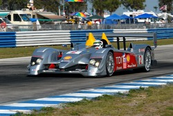#2 Audi Sport North America, Audi R10 TDI Power: Rinaldo Capello, Tom Kristensen, Allan McNish