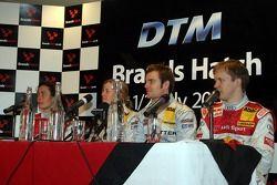 Vanina Ickx, Susie Stoddart, Jamie Green et Mattias Ekström