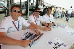Spencer Pumpelly, Jep Thornton et Mark Patterson