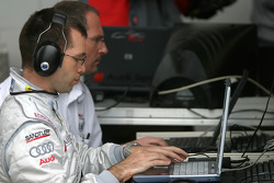 Audi team members at work