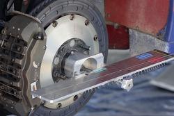 Detail of a disc brake