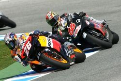 Dani Pedrosa and Alex Hofmann