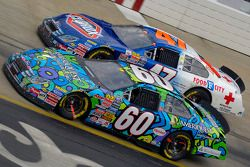 Carl Edwards and Jon Wood