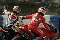 Dani Pedrosa, Repsol Honda Team; Marco Melandri, Honda