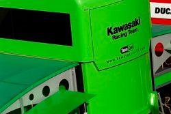 Kawasaki Racing Team pitbox