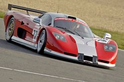 #77 Rollcentre Racing Mosler MT900R de Kevin Riley, Ian Flux