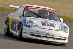 #8 Hawthorns Porsche 996GT3 de Rod Barrett, Jan Persson