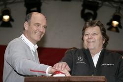 Wolfgang Ullrich, Audi, und Norbert Haug, Mercedes