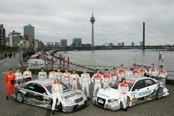 Fotoshooting: Die DTM-Fahrer 2006