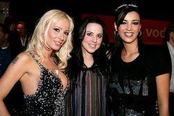 Cora Schumacher, Melanie C. et Verona Pooth