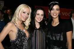 Cora Schumacher, Melanie C. and Verona Pooth