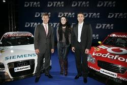 Tom Kristensen, Melanie C. and Bernd Schneider