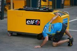 Système de ravitaillement Renault F1