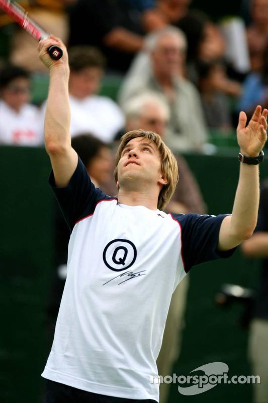 Evènement tennis Pro-Am charity: Nick Heidfeld