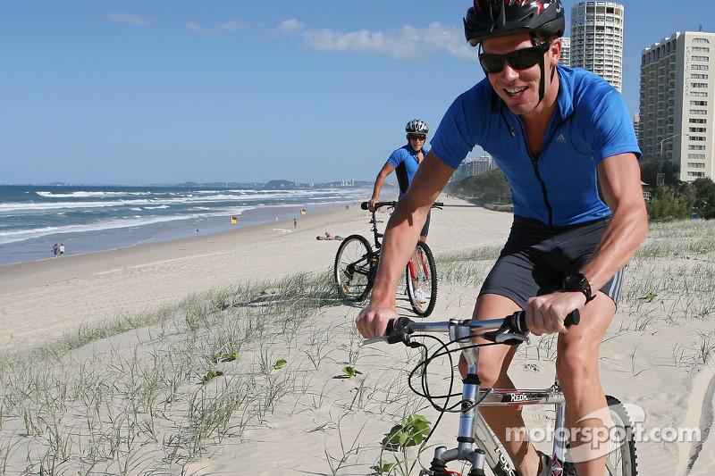 Red Bull fitness kampı Surfers Paradise: Robert Doornbos