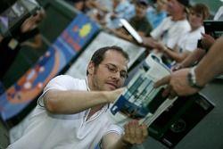 Evènement tennis Pro-Am charity: Jacques Villeneuve