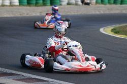 Jarno Trulli à un évènement de karting