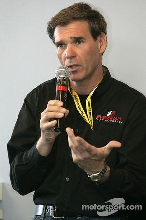 Conférence de presse: Ray Evernham