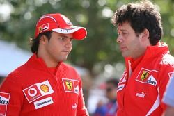 Felipe Massa avec Gabrielle delli Colli