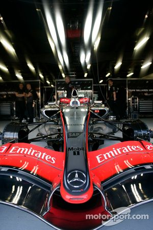 Detail van de McLaren MP4-21