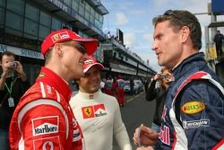 Michael Schumacher et David Coulthard