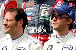 Foto de pilotos: Jacques Villeneuve y Nick Heidfeld