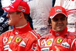 Foto de pilotos: Michael Schumacher y Fernando Alonso