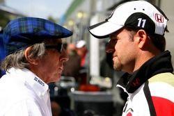 Sir Jackie Stewart et Rubens Barrichello