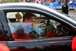 Michael Schumacher quitte la piste