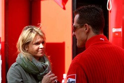 Michael Schumacher and wife Corina