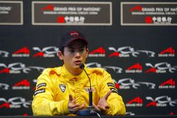 Alex Yoong (MAL) A1 Team Malaysia in the press conference