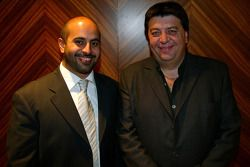 Sheikh Maktoum Hasher Maktoum Al Maktoum (UAE)et Tony Teixeira (RSA)