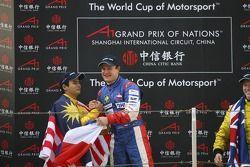 Tomas Enge (CZE), A1 team Czech Republic and Alex Yoong (MAL), A1 team Malaysia