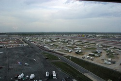 Campers arrive days early for the races at Texas Motor Speedway