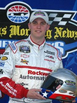 Denny Hamlin en pole position sur la O'Reilly 300