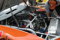 Michael Waltrip's engine compartment